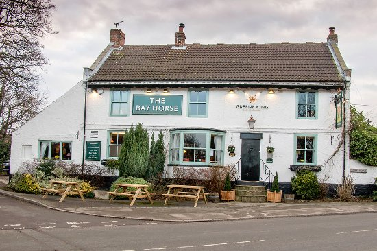 The Bay Horse Inn: Front of Pub
