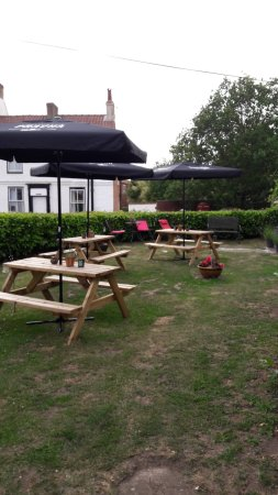 Green Hammerton, UK: Beer Garden
