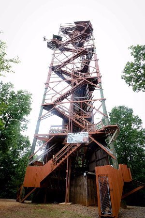 Adventure Tower - Power Free Fall, Flight of the Falcon and Rock Climbing wall