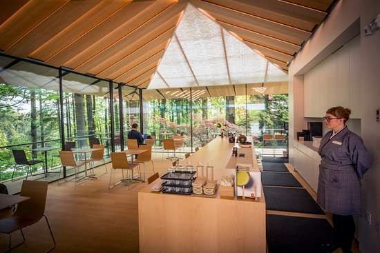 Portland Japanese Garden: The Umami Cafe by Ajinomoto serves Japanese teas paired with sweets. Photo by Bruce Forster.