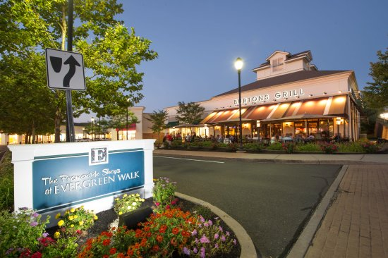 Apple picture of the promenade shops at evergreen walk for Evergreen shop