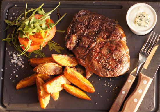 Kouvola, Finland: BLACK ANGUS RIBEYE STEAK