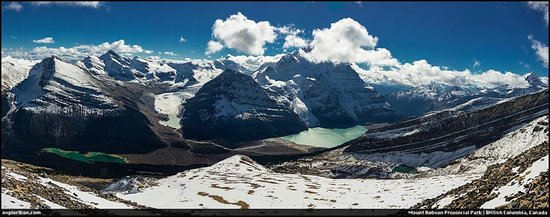 Canadian Rockies, Canada: View of Berg Lake