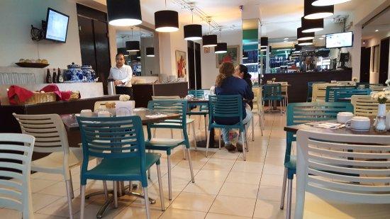 هوتل ديل أنجل: Hotel Restaurant