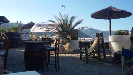 zona bar/ristorante - Foto di Bagni Capo Mele, Laigueglia - TripAdvisor