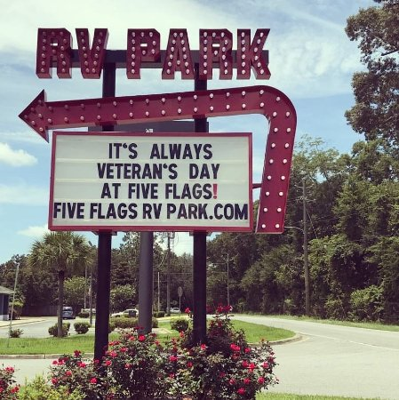 Five Flags Rv Park Updated 2017 Prices Amp Campground