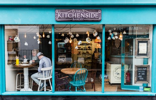 The Kitchenside Bakery : The front of the Cafe