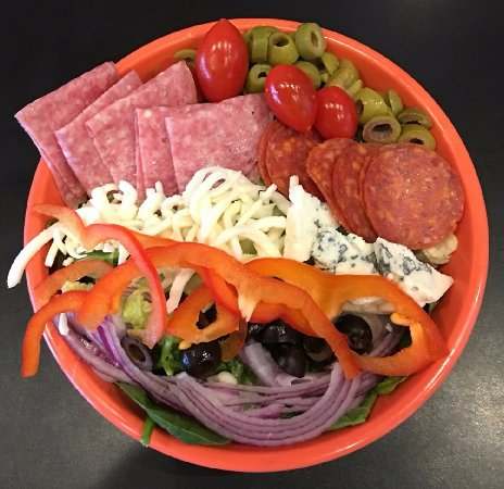 Siloam Springs, AR: Our Antipasto Salad. We also offer an Antipasto Pizza.