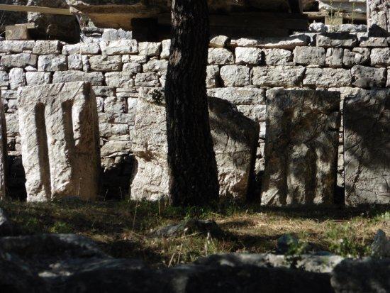 Messenia Region, Hellas: Tempio di Basse, Grecia