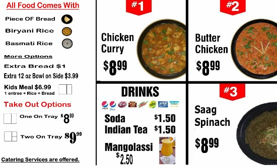 indian cuisine express, kennewick - 8524 west gage blvd