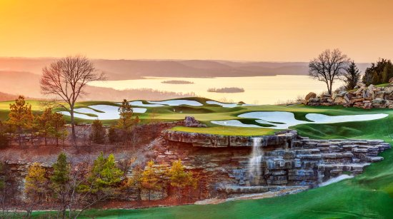 Ridgedale, MO: The Arnold Palmer Practice Facility at Top of the Rock