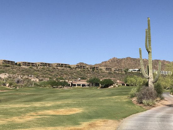 Fountain Hills, AZ: Coming into clubhouse on 18th
