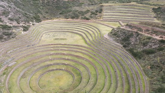 Maras, Peru: View from the top