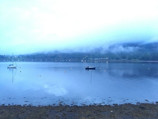 Lochgoilhead, UK: The cloud came in for a rainy evening