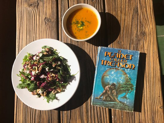 Yucca Valley, CA: Soup, Salad, and Sci Fi.