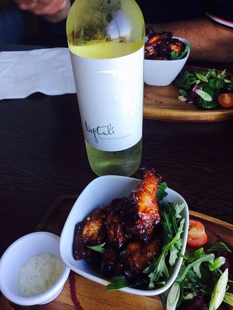 Wine And Chicken Wings What A Combo Picture Of Ocean Lodge