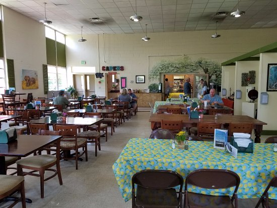 Hoover, AL: The dining room; looks like it was the cafeteria for the building that might have been a school