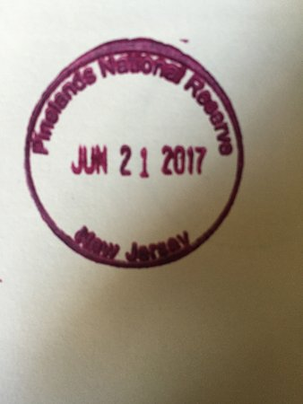 Bayville, NJ: NPS passport stamp for Pinelands National Reserve available at Double Trouble State Park