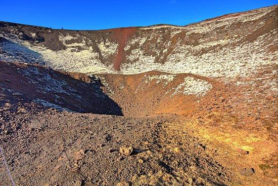Bifrost, Island: Kaldera
