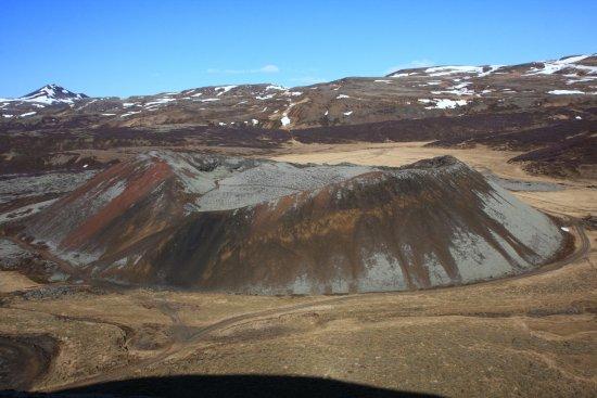 Bifrost, Islandia: Aussicht vom Kraterrand