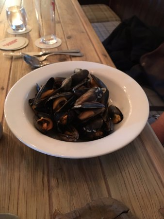 Killearn, UK: Mussels.