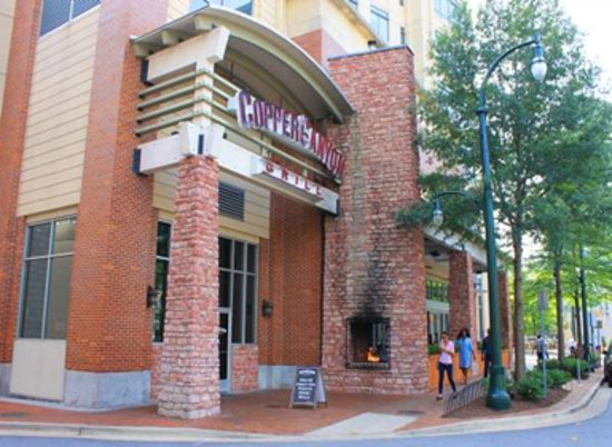 entrance - Picture of Copper Canyon Grill, Silver Spring - TripAdvisor