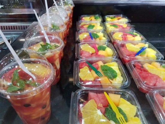 Pointe-à-Pitre, Guadalupe: Salade de fruits frais