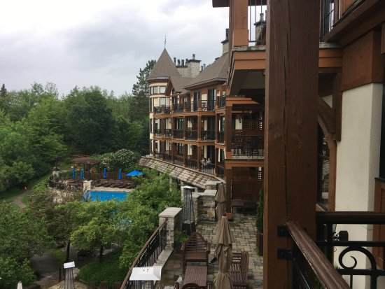 Hotel Quintessence: View from the balcony