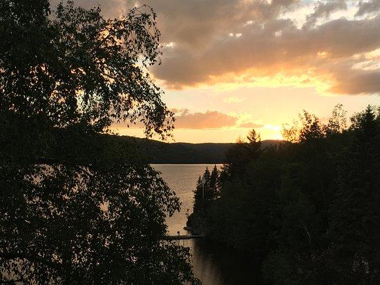Hotel Quintessence: Magnificent sunset