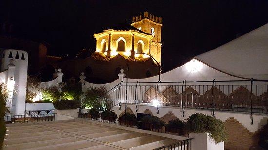 Casa Banos de la Villa: Vistas desde la terraza.
