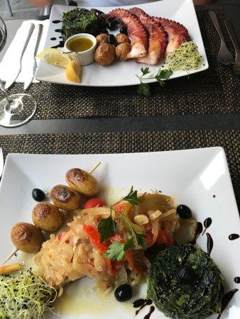 Nyon, Switzerland: Des beaux et délicieux plats!
