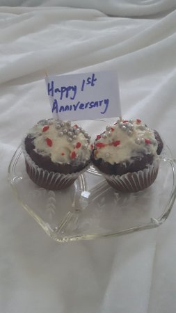 Graystone Bed and Breakfast: Cupcakes