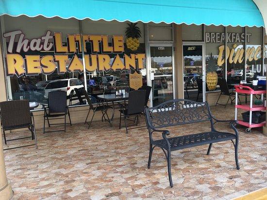 """That Little Restaurant: Outdoor """"room"""""""