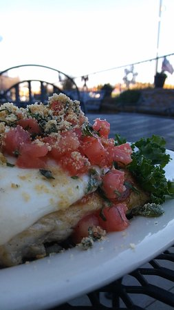 Flowery Branch, GA: Grouper Caprese for our FRESH FISH FRIDAYS