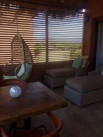 Rancho Pescadero: The balcony in the room