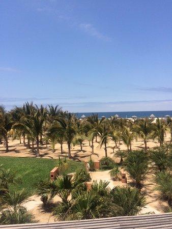 Rancho Pescadero: Beautiful view of hotel overlooking the ocean