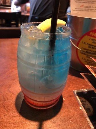 Martinsburg, WV: Tie Dye Long Island Ice Tea.........GREAT!!!