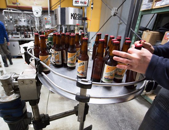 Whitefish, MT: Freshly bottled Going to the Sun IPA