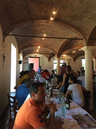 Gattatico, Italy: Vista del comedor cubierto