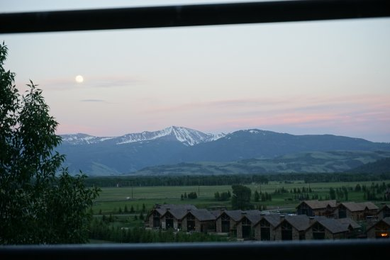 Teton Mountain Lodge & Spa - A Noble House Resort: View from our balcony