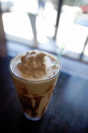 Carbondale, CO: Blended Affogato - Coffee milkshake made with loads of all natural ice cream