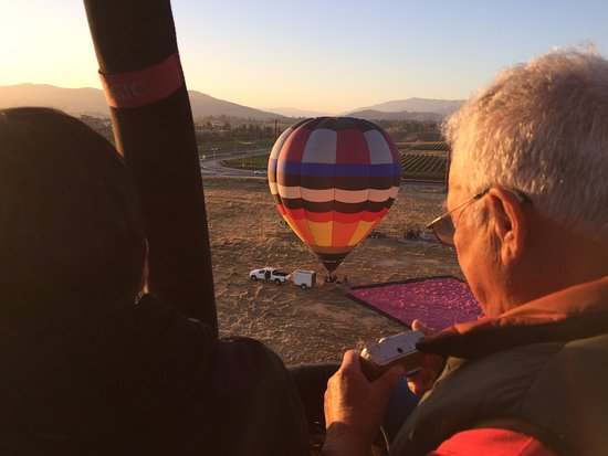 Temecula, CA: Take-off at sunrise......