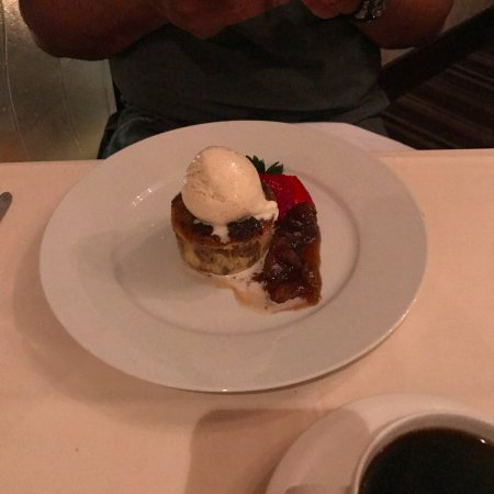 Yonkers, NY: bread pudding