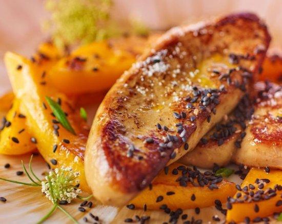Lezignan-Corbieres, Frankrike: foie gras poëlé