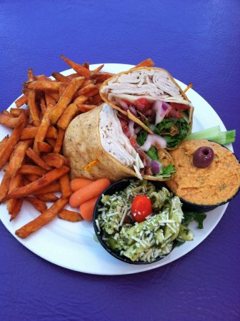 Fletcher, NC: Yummy Sweet Potato Fries with a wrap