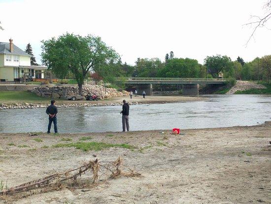 Souris, Canada: fishing