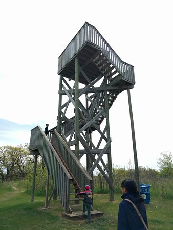 Souris, Canada: viewing platform