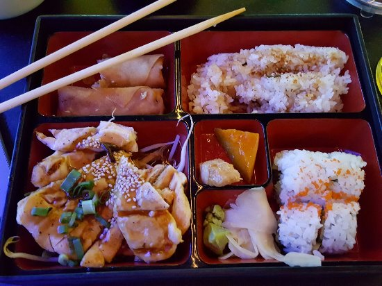 Greenwood Village, CO: Chicken bento box . . .