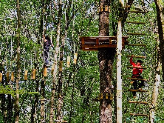 Chemille-sur-Indrois, France : Sa grimpe !