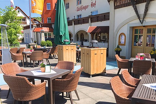 Bad Mergentheim, Germany: Terrasse